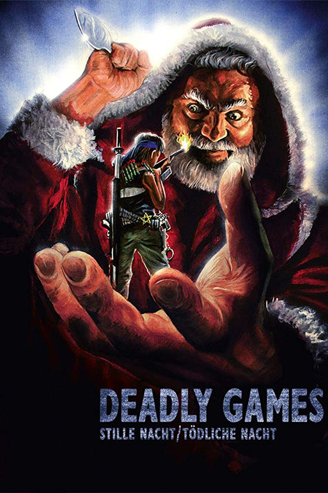 Dail Code Santa Poster - Alamo Drafthouse Bringing Undiscovered Horror Gem DIAL CODE SANTA CLAUS to Select Theaters