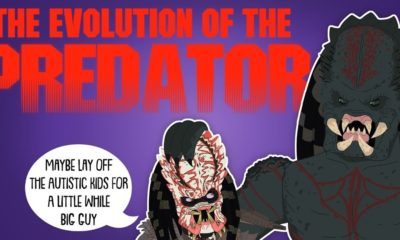 Evolution of Predator Animated 400x240 - Animated Video Shows the Evolution of THE PREDATOR