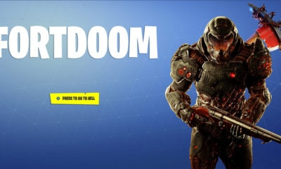 FortDoom thumbnail 400x240 - FORTDOOM Brings Old School DOOM to Fortnite