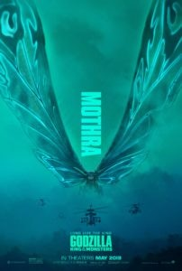 Godzilla 2 Poster Mothra 202x300 - Everything We Know So Far About the Mothra Twins & New Egg in GODZILLA: KING OF THE MONSTERS