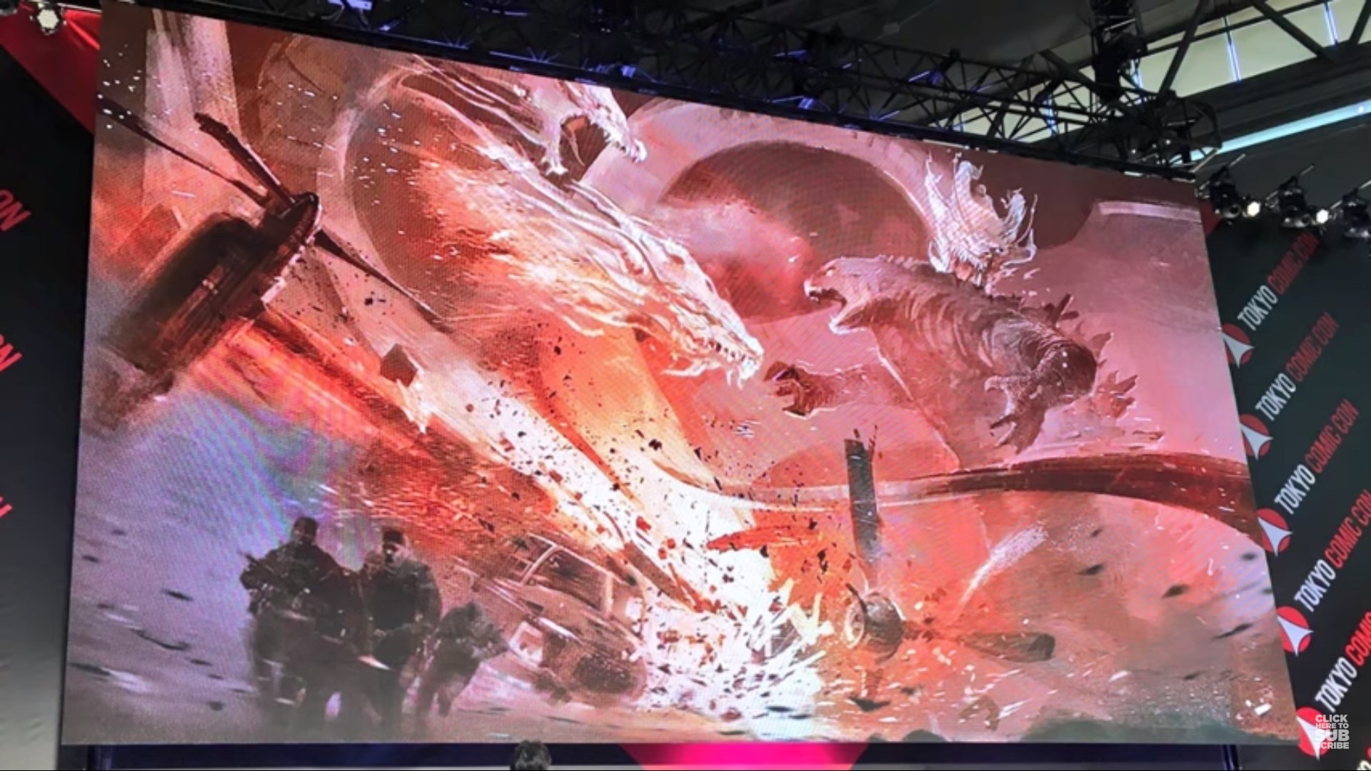 Godzilla King of the Monsters Concept Art 1 - (Spoilers) Concept Art from Tokyo Comic-Con Reveals Major Clashes in GODZILLA: KING OF THE MONSTERS