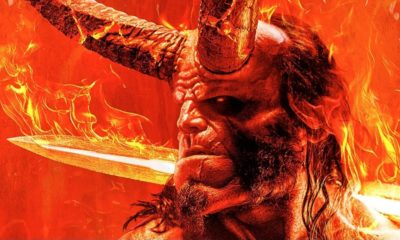 Hellboy 2019 Sword 400x240 - New HELLBOY Image + David Harbour Explains Why His Character is Different Than Ron Perlman's Hellboy