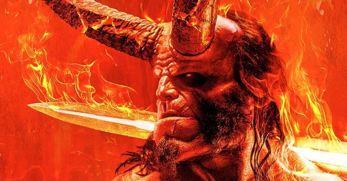 Hellboy 2019 Sword - New HELLBOY Image + David Harbour Explains Why His Character is Different Than Ron Perlman's Hellboy