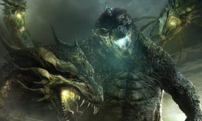King Ghidorah 1 400x240 - King Ghidorah Rears His Mighty Heads in Latest Twitter Tease for GODZILLA: KING OF THE MONSTERS