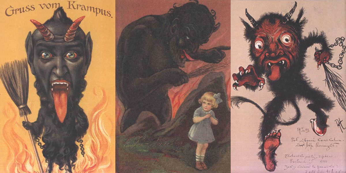 Krampus Triptych 02 - The Anti-Claus is Coming to Town! A Brief History of Krampus