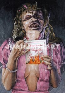 NightoftheDemonsArtwork 209x300 - Never-Before-Seen Uncut SFX Shots from NIGHT OF THE DEMONS 2 Released