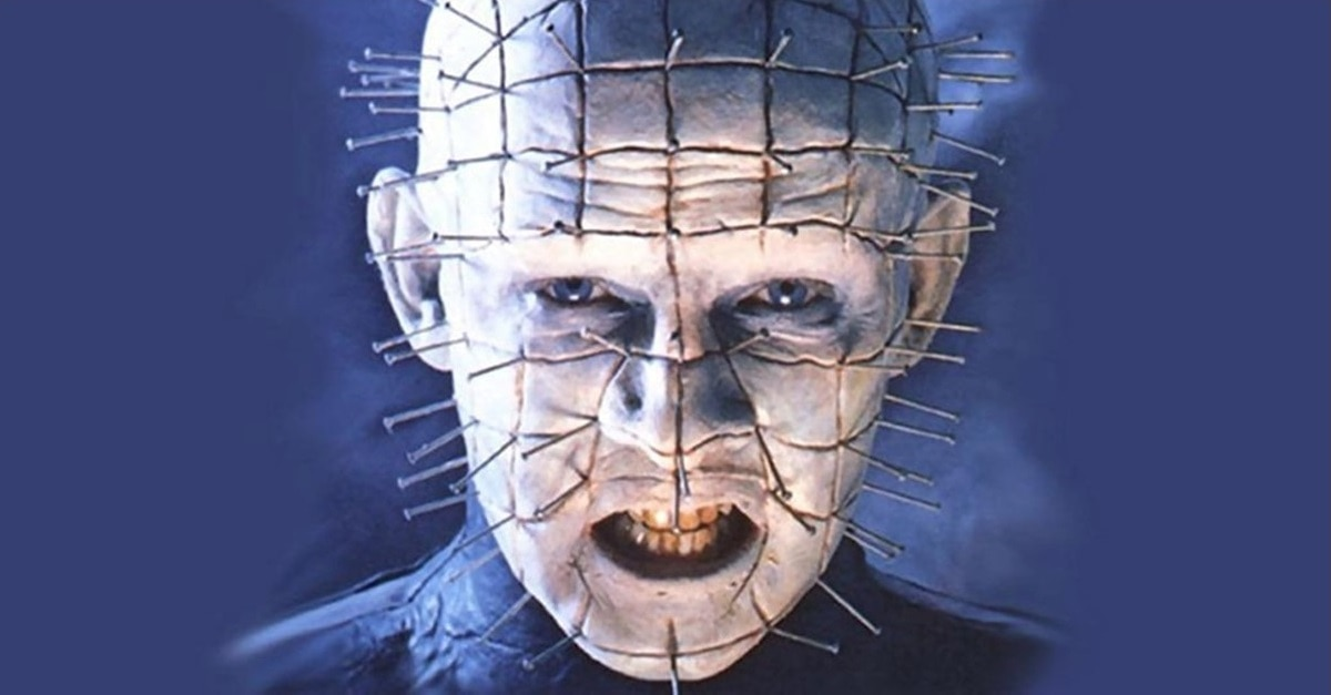 Pinhead - Exclusive: FANGORIA's OUR LADY OF THE INFERNO Audiobook Locks Horror Icons Doug Bradley And Mick Garris