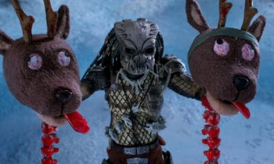 Predator Holiday Special Banner 400x240 - In Case You Missed It: Here's the PREDATOR Stop-Motion Holiday Special from Last Night