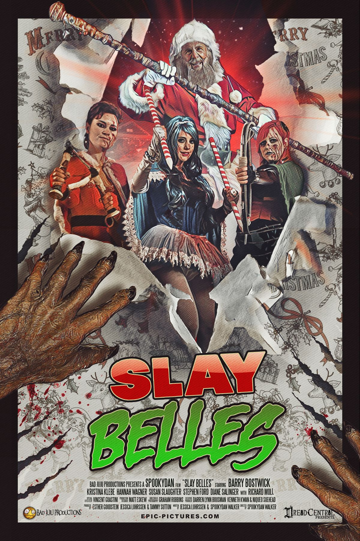 SlayBelles poster 01 - The Anti-Claus is Coming to Town! A Brief History of Krampus