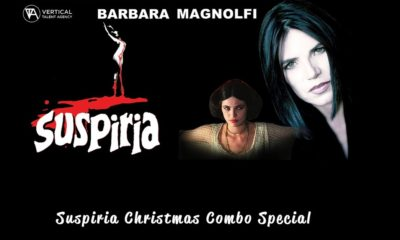 Suspiria Combos 400x240 - VTA Has Christmas Combos featuring Original SUSPIRIA Actress Barbara Magnolfi