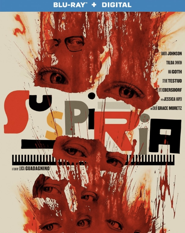Suspiria DVD - Release Date Announced for SUSPIRIA Blu-ray/DVD