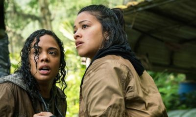 Tess Thompson and Gina Rodriguez in Annihilation 400x240 - Gender Bashing: ANNIHILATION and The Higher Bar of Representation