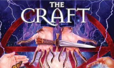 The Craft Scream Factory Cover Clip 400x240 - Special Features Announced for Scream Factory's Blu-ray/DVD Reissue of THE CRAFT