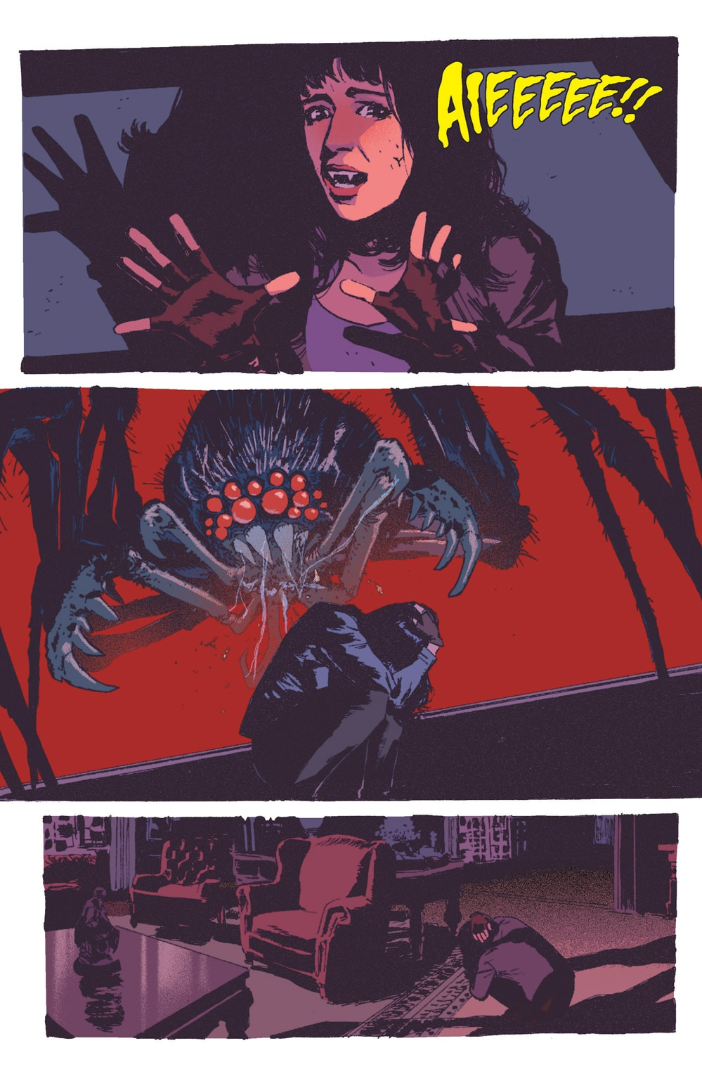 Vampironica 05 3 - Exclusive VAMPIRONICA #5 Preview is a Descent Into a Pure Nightmare