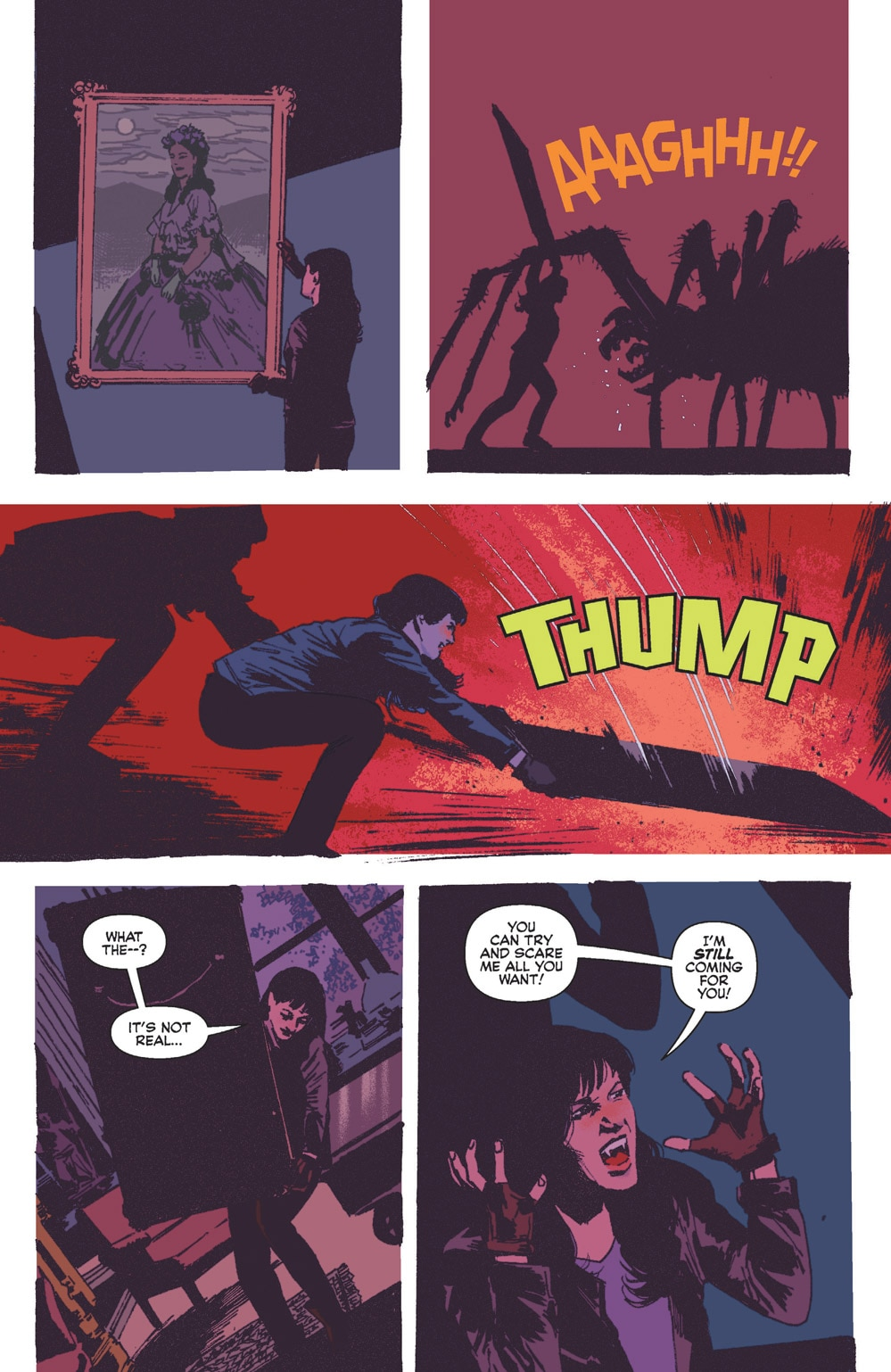 Vampironica 05 5 - Exclusive VAMPIRONICA #5 Preview is a Descent Into a Pure Nightmare