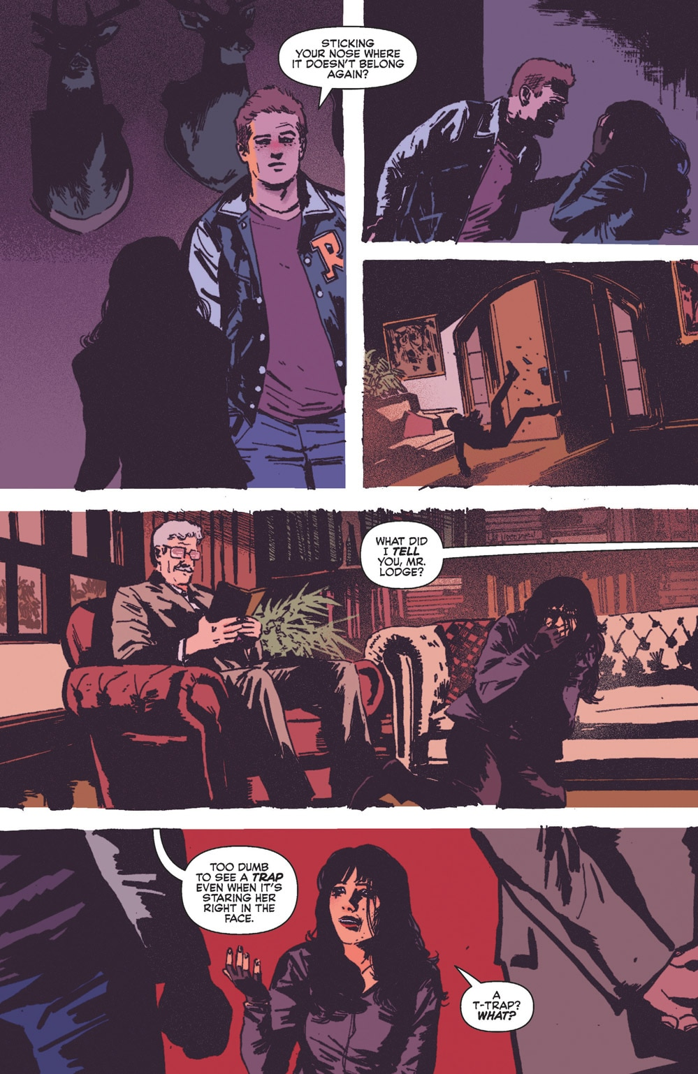 Vampironica 05 8 - Exclusive VAMPIRONICA #5 Preview is a Descent Into a Pure Nightmare