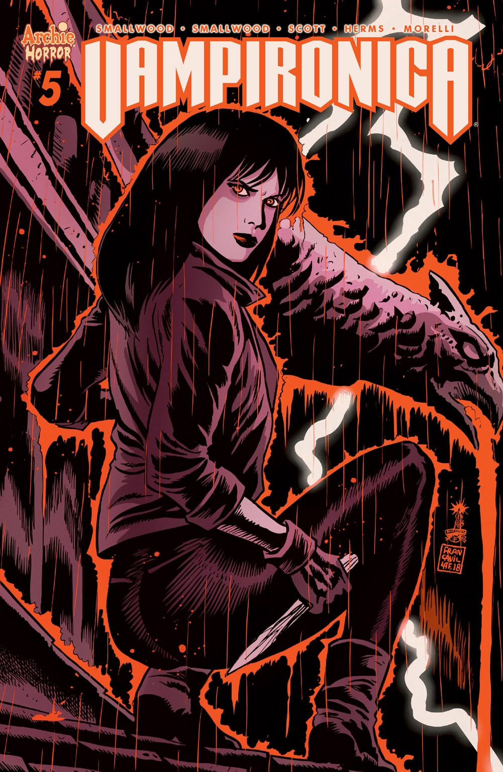 Vampironica 05 CoverB Francavilla - Exclusive VAMPIRONICA #5 Preview is a Descent Into a Pure Nightmare