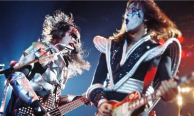 """Ace and Gene KISS 400x240 - Ace Frehley Blasts KISS Members Gene Simmons & Paul Stanley Over """"End of the Road"""" Exclusion"""