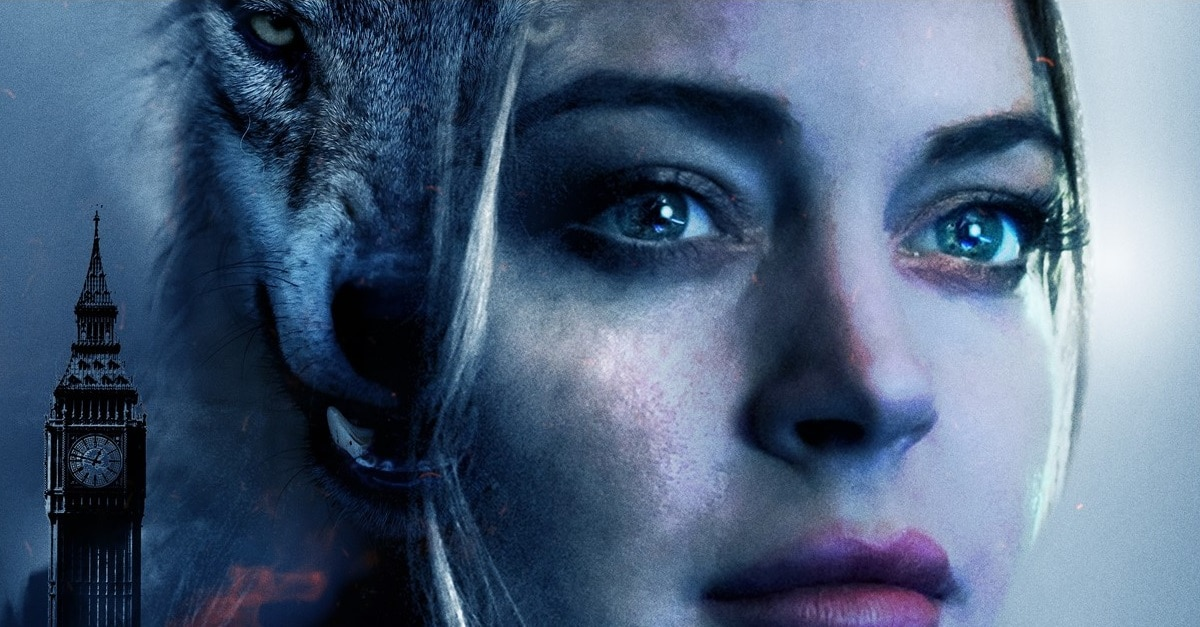 Among the Shadows Banner 1 - New Trailer & Poster + Release Date Announced for Lindsay Lohan Werewolf Movie AMONG THE SHADOWS