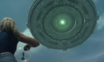Fighting in the Sky Scene 400x240 - Modern Twist on Classic Flying Saucer Horror in Trailer for FIGHTING THE SKY