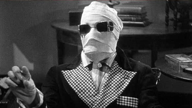 Invisible Man 1933 Banner 750x422 - Release Date Announced for Blumhouse's INVISIBLE MAN; Remake Will Materialize in 2020