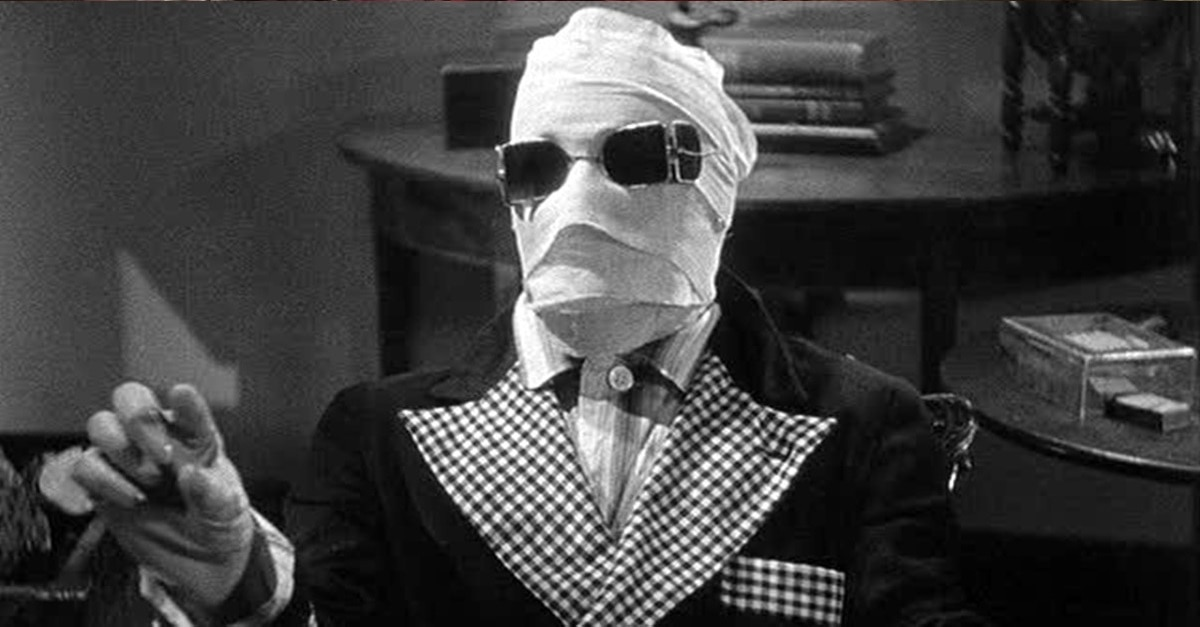 Invisible Man 1933 Banner - Release Date Announced for Blumhouse's INVISIBLE MAN; Remake Will Materialize in 2020