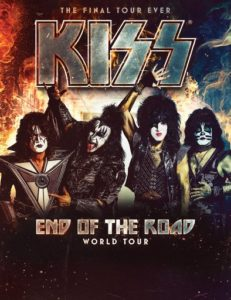 "KISS End of the Road 231x300 - Ace Frehley Blasts KISS Members Gene Simmons & Paul Stanley Over ""End of the Road"" Exclusion"