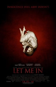 Let Me In Poster 2 194x300 - Heartbreaking Disturbing Scene Cut from LET ME IN Shows Night Abby was Turned into a Vampire