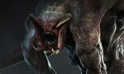"Predator Mutant Concept Art 400x240 - Damn Dog! Hounds & Ghastly Mutant ""Gone Wrong"" are Latest Unused Concept Art from THE PREDATOR"