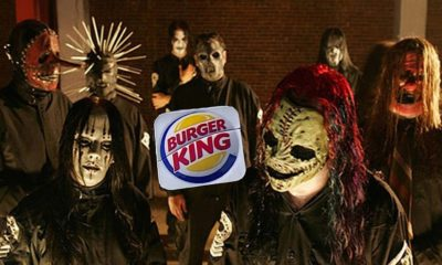 "Slipknot BK 400x240 - That Time SLIPKNOT Sued Burger King Over ""Coq Roq"" Chicken Fries Commercial"