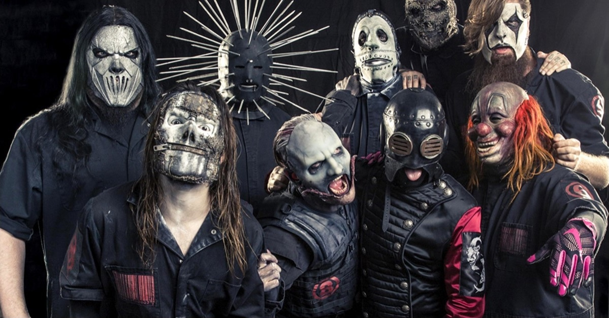 Slipknot Banner - SLIPKNOT Drummer Shares Shocking Pics from Recording Session for New Album