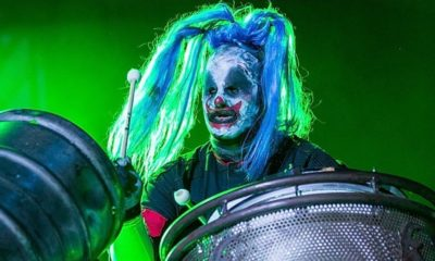 "Slipknot Clown 400x240 - Regarding Upcoming Album/Tour Shawn ""Clown"" Crahan Promises Slipknot Has Never Been Better"