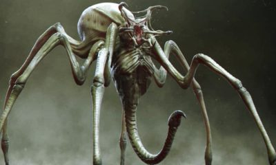 Spider Predator Hybrid 400x240 - More Unused Concept Art from THE PREDATOR Reveals Creepy Crawly Spider Hybrid