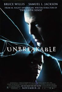 "Unbreakable 2000 Poster 203x300 - UNBREAKABLE Takes Some Licks in Latest ""Honest Trailer"" from Screen Junkies"