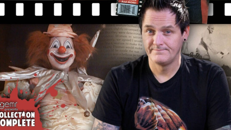 clark collection complete 750x422 - Ever Wondered What Happened to the Clown from POLTERGEIST?