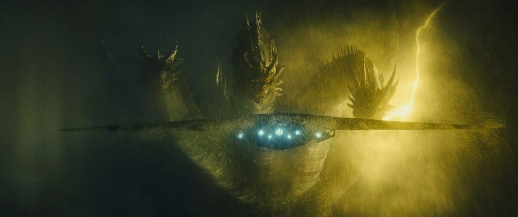 ghidorahgodzillakingofthemonstersimage 1024x429 - This Image of King Ghidorah From GODZILLA: KING OF THE MONSTERS is as Fierce as They Come