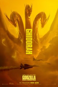 godzilla king of the monsters ghidorah poster 202x300 - GODZILLA: KING OF THE MONSTERS Director Talks Humanizing King Ghidorah