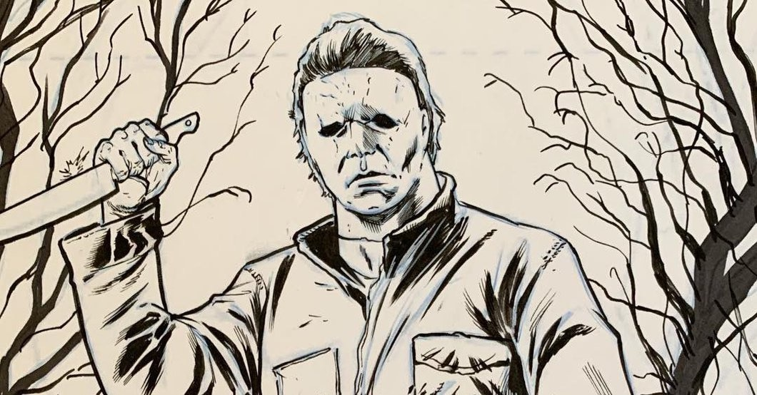 halloweentimseeleybanner - Tim Seeley Draws Mashup of HALLOWEEN's Michael Myers and HACK/SLASH's Cassie Hack