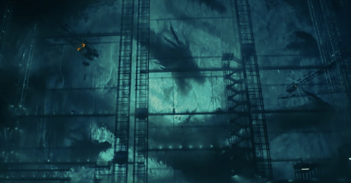 This Image Of King Ghidorah From Godzilla King Of The