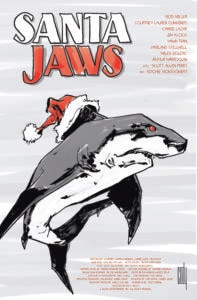 santa jaws 1 197x300 - Drinking With The Dread: SANTA JAWS Is Chomping Through Town!