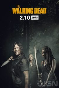 walking dead poster 202x300 - Michonne Recaps Events of THE WALKING DEAD Season 9 (So Far) in Latest Clip for the Show's Return