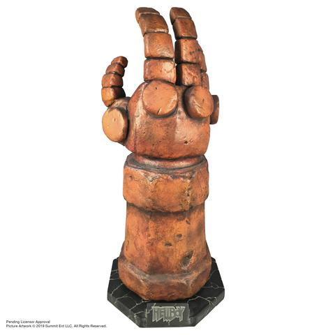 """2019 01 30 15.05.14 R large - Punch like HELLBOY with Life-Sized """"Right Hand of Doom"""" Replica from Chronicle Collectibles"""
