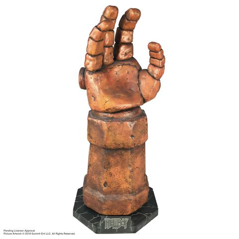"""2019 01 30 15.05.27 R large - Punch like HELLBOY with Life-Sized """"Right Hand of Doom"""" Replica from Chronicle Collectibles"""