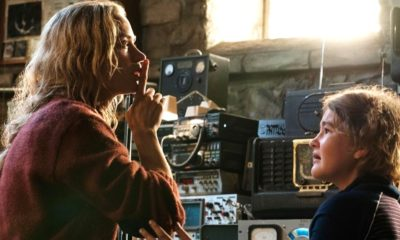 A Quiet Place Mom and Daughter 400x240 - (What's Left of) The Abbott Family will Be Reunited in A QUIET PLACE 2