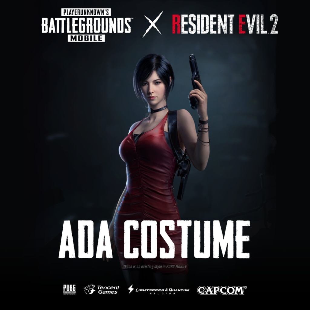 Ada 1024x1024 - Contest: Win RESIDENT EVIL 2 Skins For PUBG MOBILE!