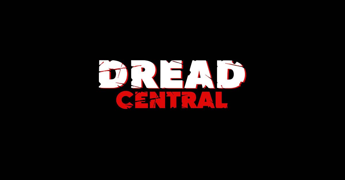 Await the Dawn Banner - Indie Horror Movie AWAIT THE DAWN Features 1980s Era Horror Icons