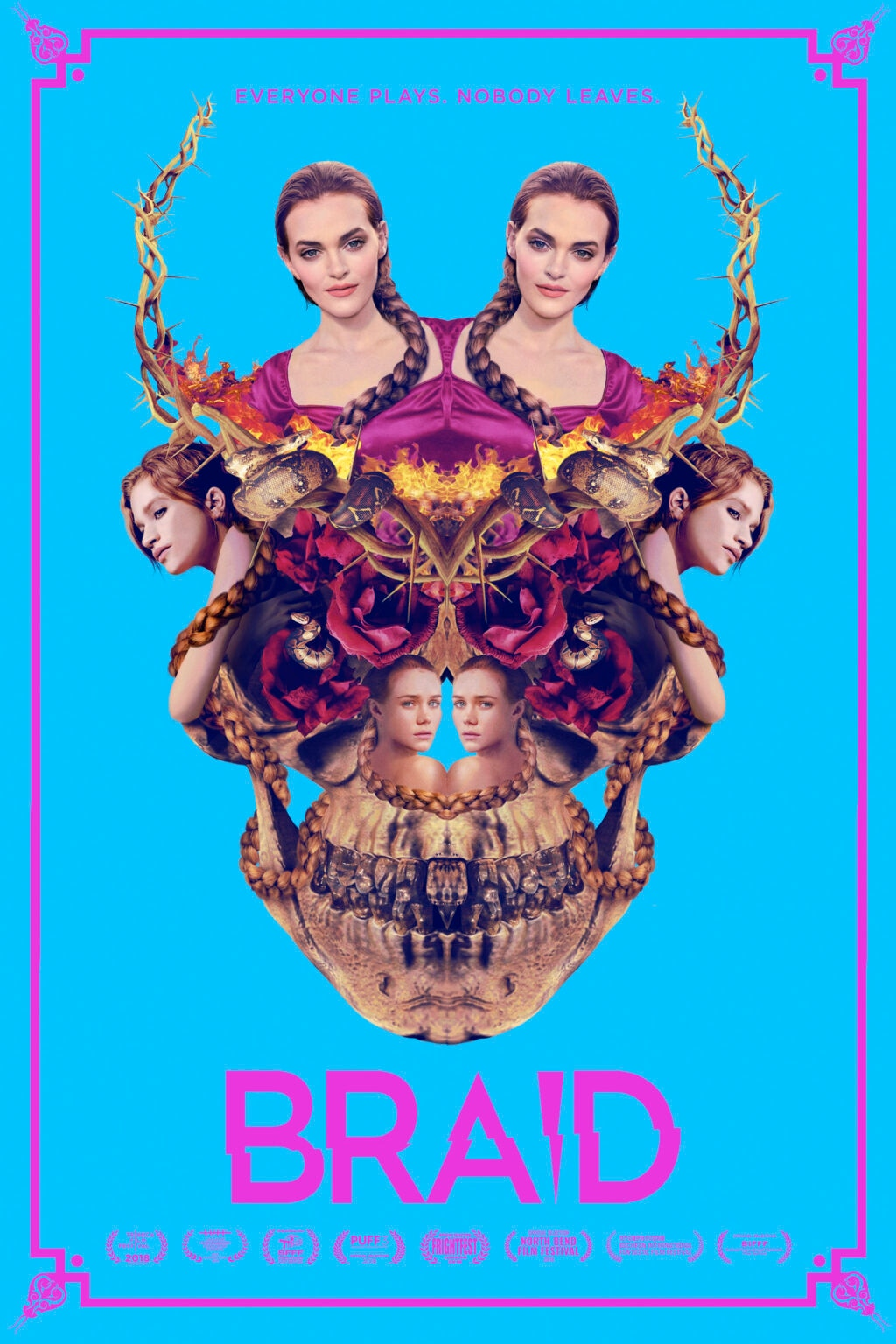 BRAID KeyArt domestic final WEB 1024x1536 - Bella Thorne Joins Apocalyptic Thriller THE UNCANNY