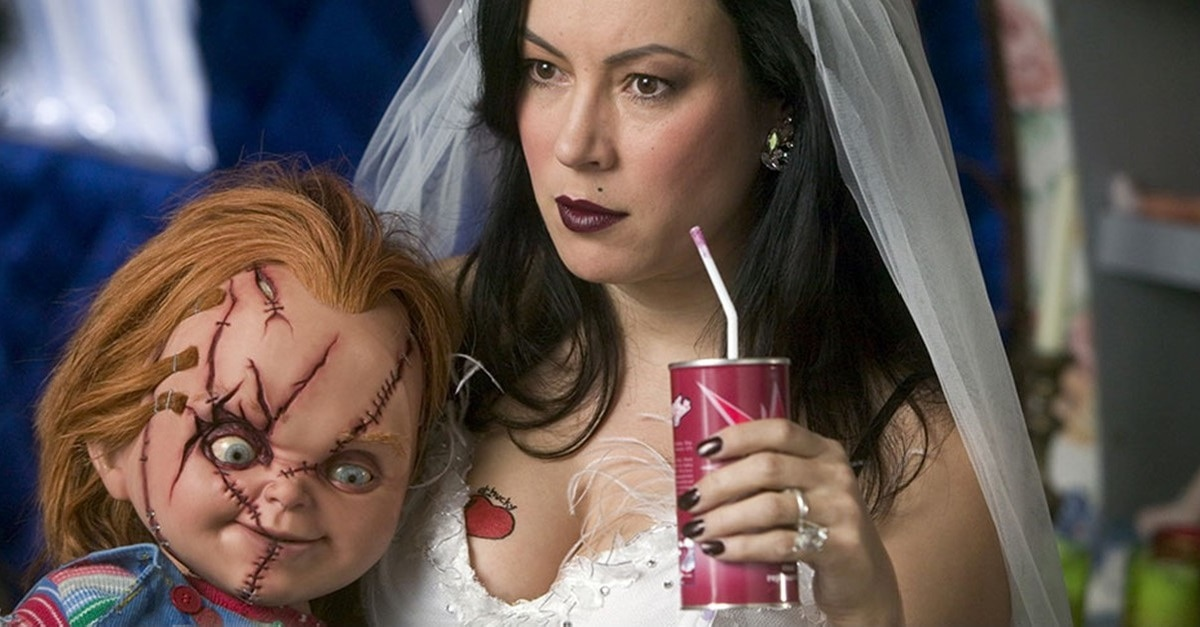 Chucky and Tilly - Jennifer Tilly (& Tiffany) Weigh in on CHILD'S PLAY Remake After Trailer Release