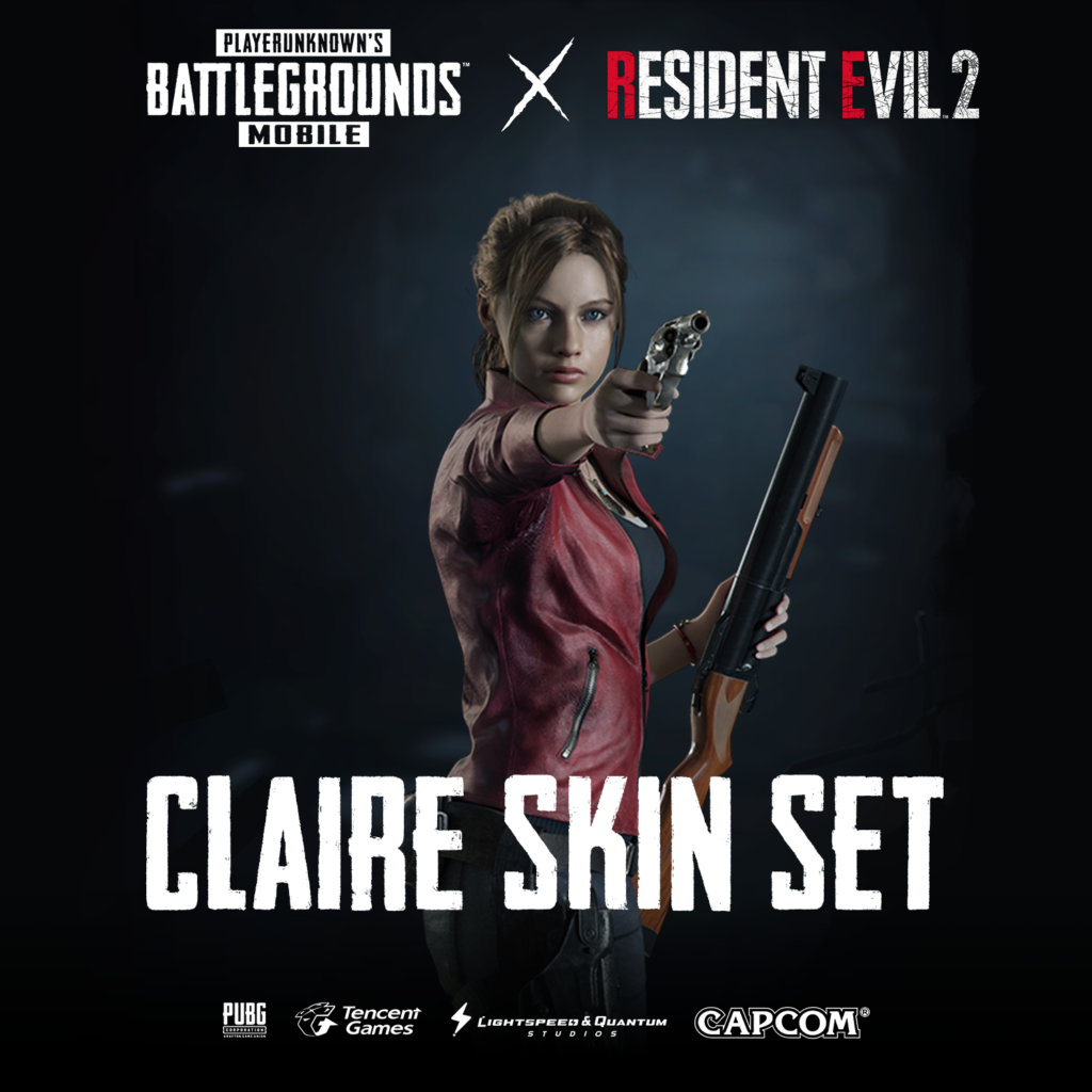 Claire 1024x1024 - Contest: Win RESIDENT EVIL 2 Skins For PUBG MOBILE!