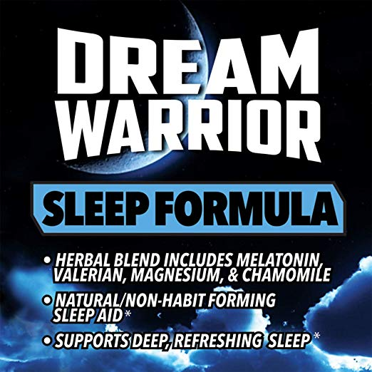 "Dream Warrior - NIGHTMARE ON ELM STREET Fans: There's a Real ""Hypnocil"" Type Sleep Aid called ""Dream Warrior"""